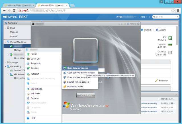 VMware_Host_Client_3